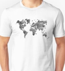 Inspire And Be Inspired - Grayscale Unisex T-Shirt
