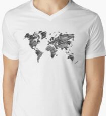 Inspire And Be Inspired - Grayscale Men's V-Neck T-Shirt
