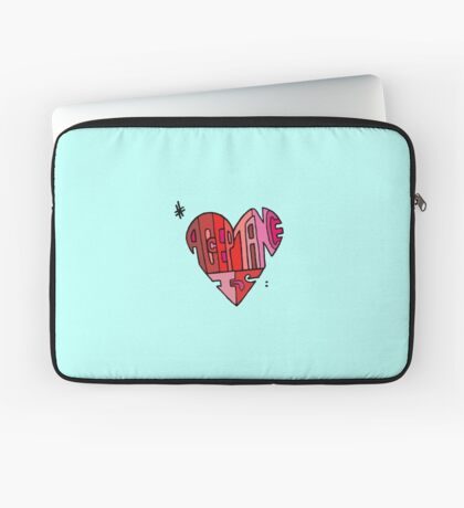 #AcceptanceIs - Heart Laptop Sleeve