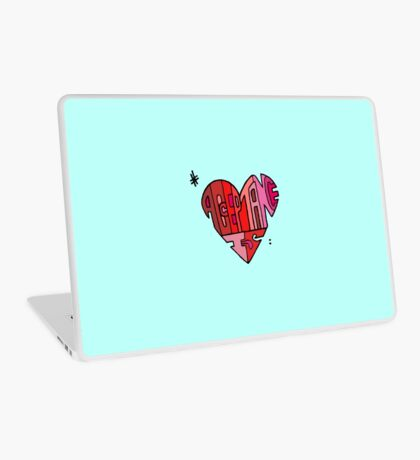 #AcceptanceIs - Heart Laptop Skin