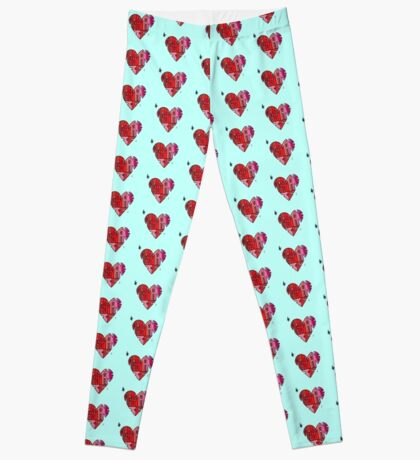 #AcceptanceIs - Heart Leggings