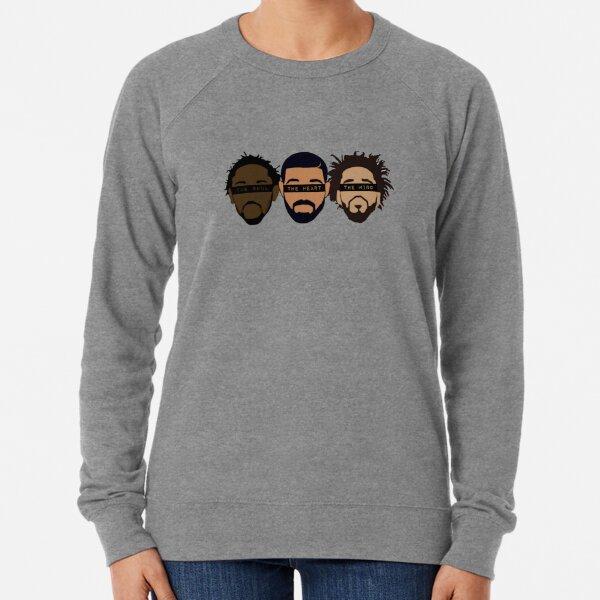 Drake, Kendrick, J Cole - Heart, Mind, Soul Lightweight Sweatshirt