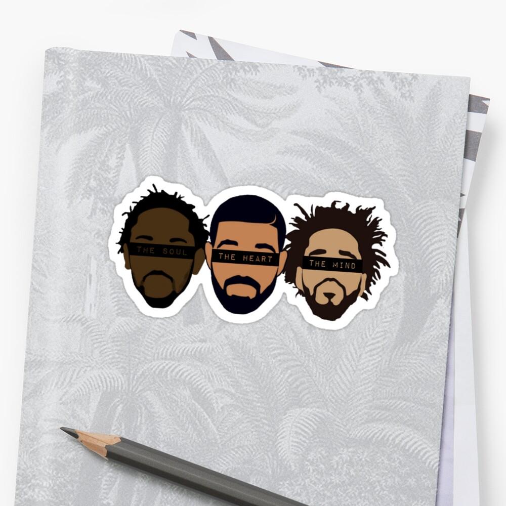 Drake, Kendrick, J Cole - Heart, Mind, Soul by Sam Gendelman