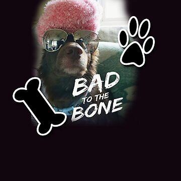 Dog - Bad to the Bone by gemzysworld