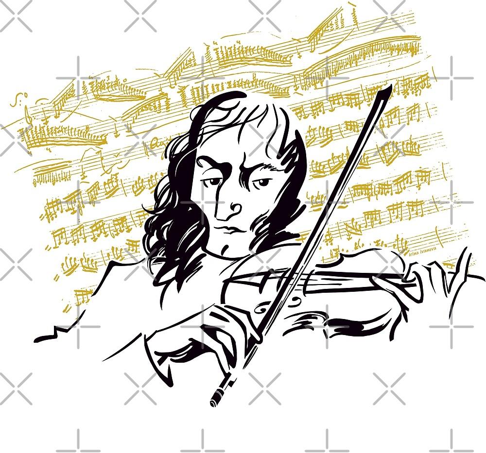 Paganini (v.2) by Irina Ivanova
