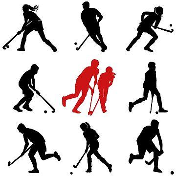 Field Hockey Spieler by hookfreaks