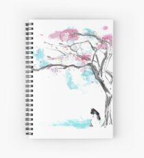 sakura delicious Spiral Notebook