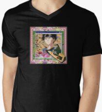 Surfin Tha Web Mens V-Neck T-Shirt