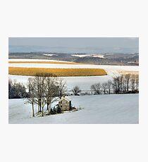 Cold Winter Sunrise Photographic Print