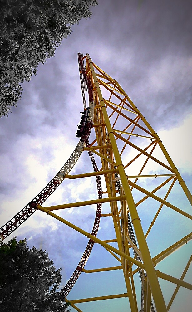 Top Thrill Dragster by WildArts