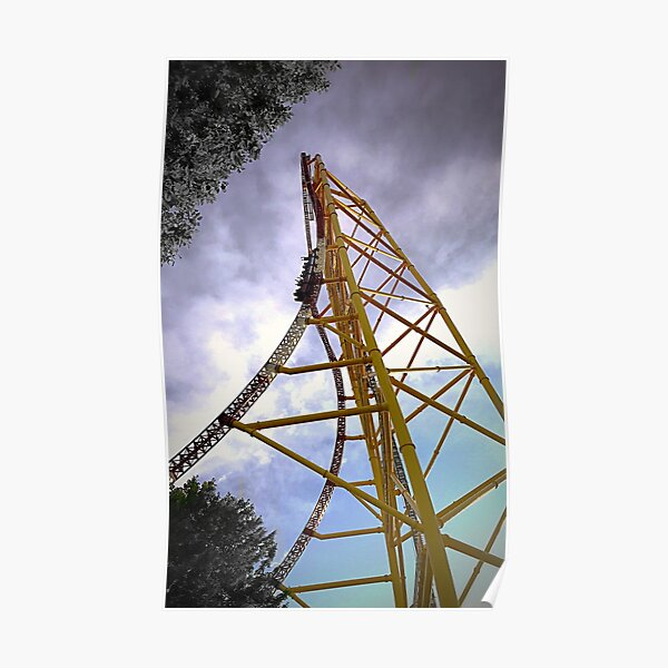 Top Thrill Dragster Poster