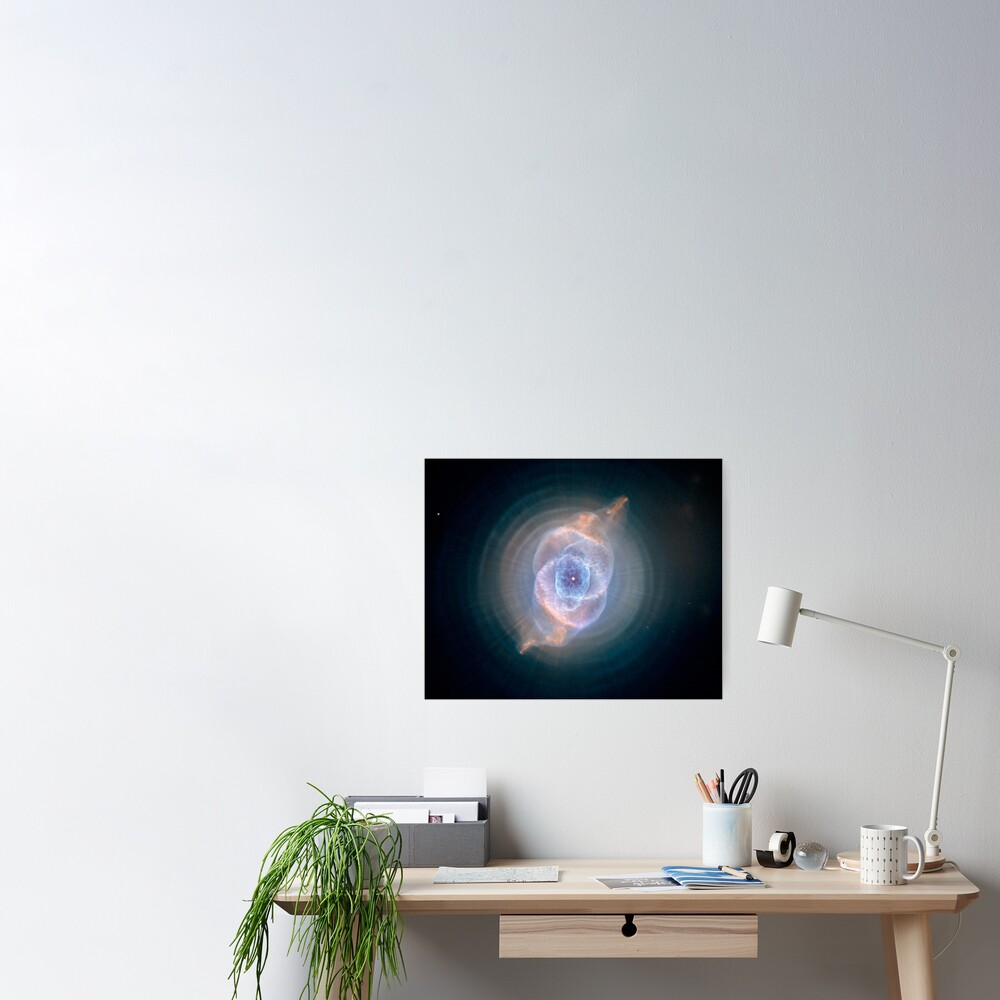 NASA's Hubble Space Telescope: Cat's Eye Nebula Poster