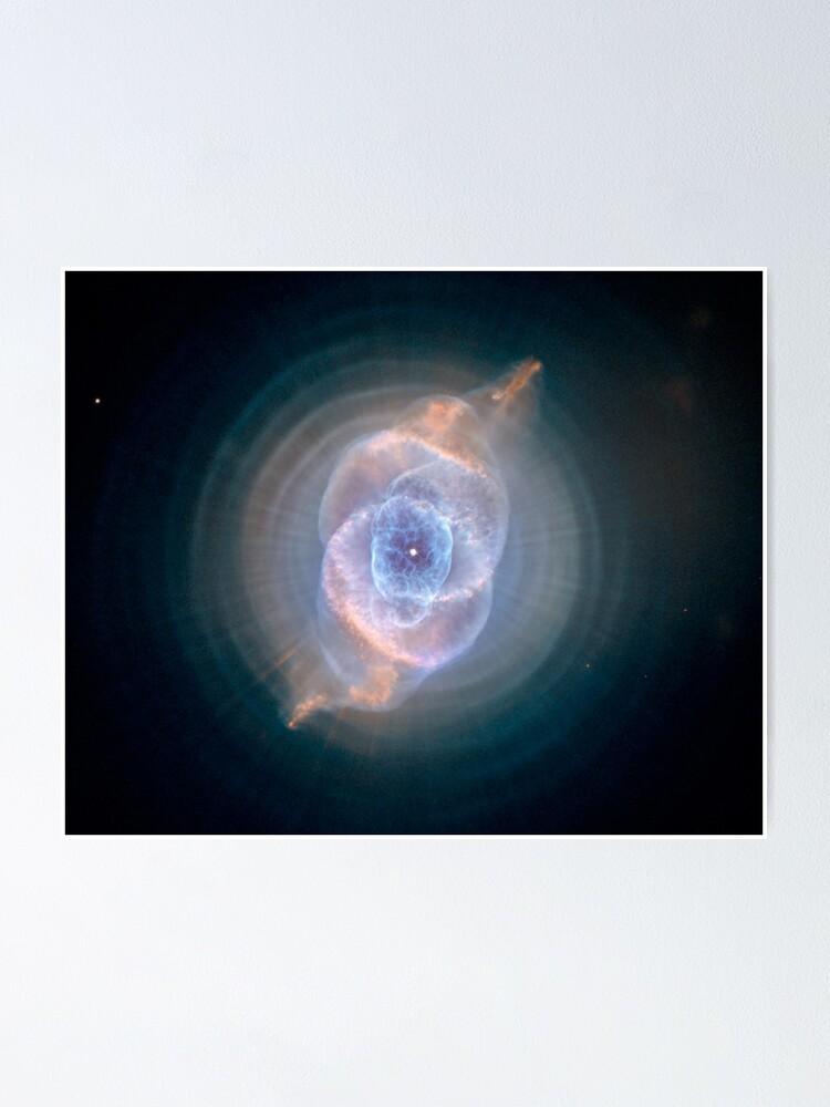 Alternate view of  NASA's Hubble Space Telescope: Cat's Eye Nebula Poster