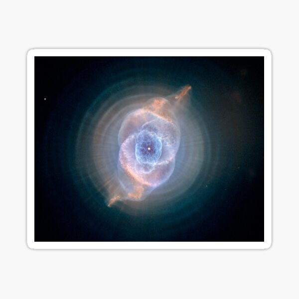 NASA's Hubble Space Telescope: Cat's Eye Nebula Sticker