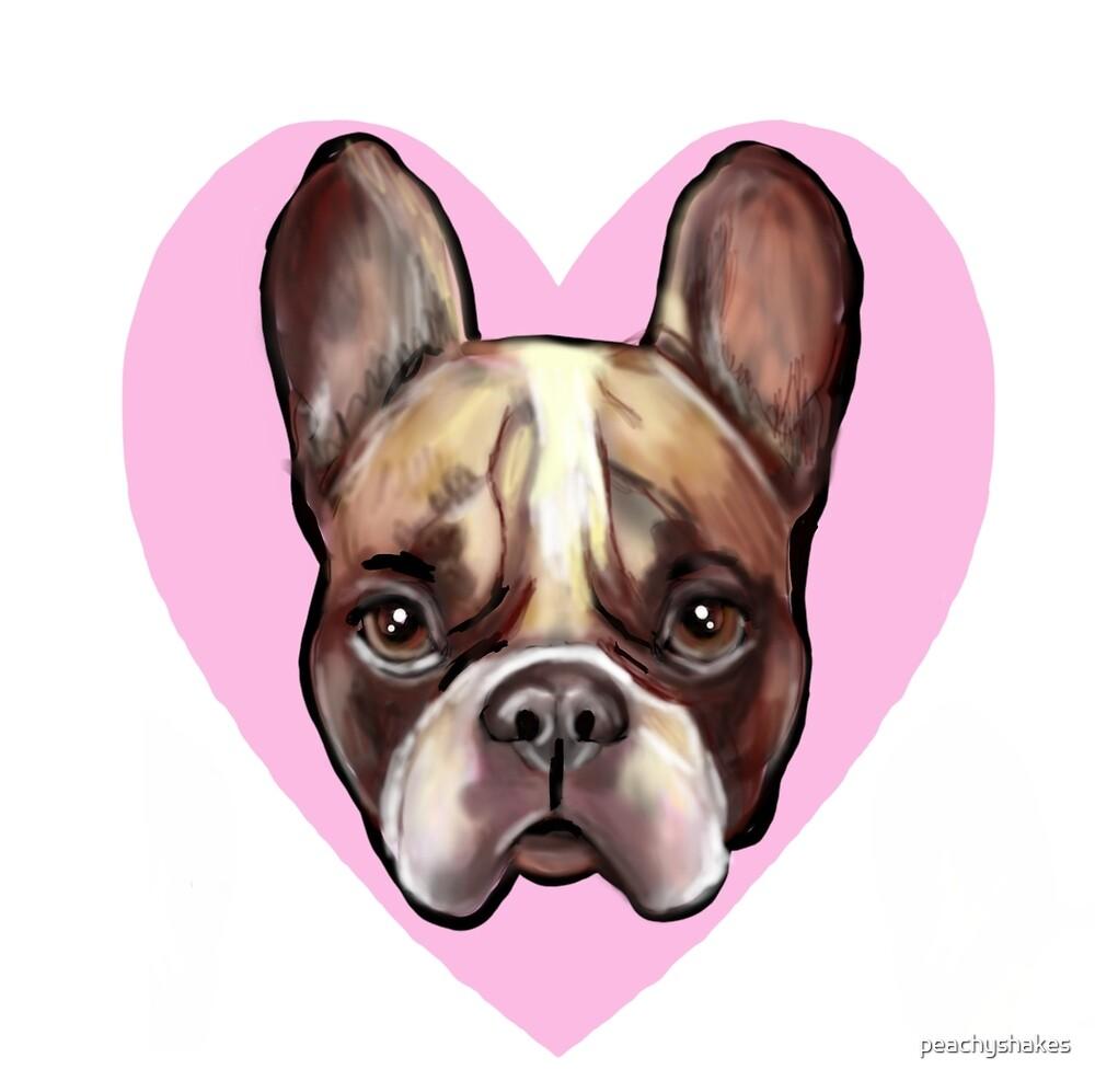 Bulldog Love by peachyshakes