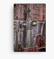 Steam governors Canvas Print