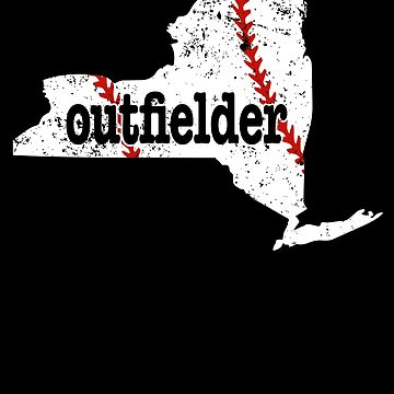 New York Outfield Softball Outfield Baseball by shoppzee