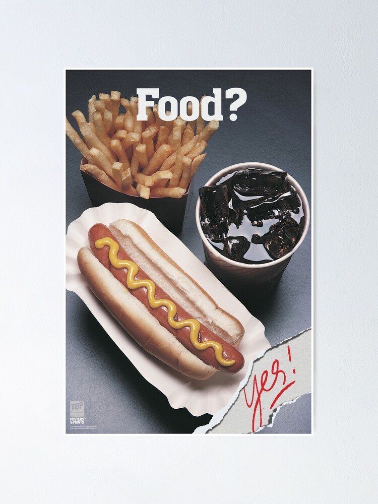Alternate view of FOOD? Yes! Poster
