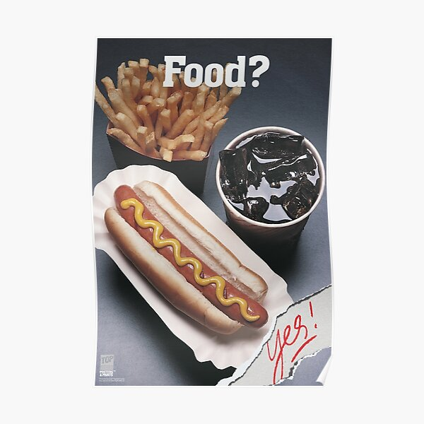 FOOD? Yes! Poster