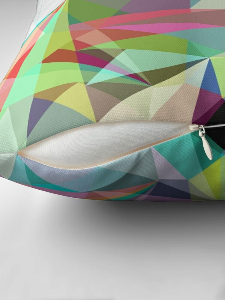 Alternate view of Colorflash 7 Throw Pillow