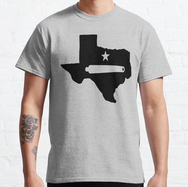 Texas Venez et prenez-le chemise noire T-shirt classique