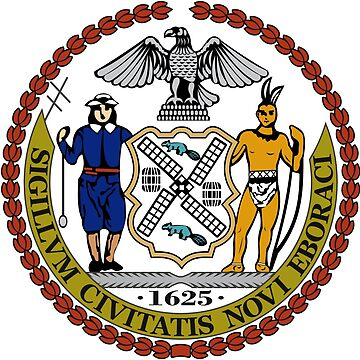 Seal of New York City  by abbeyz71