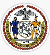 Seal of New York City  Sticker