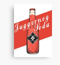 Juggernog Soda - Poster Canvas Print