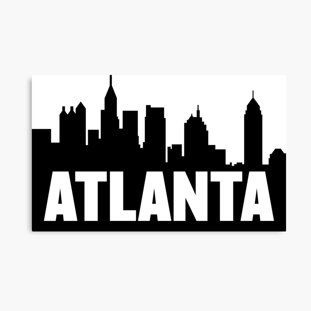 "Atlanta City Georgia USA State Retro Greetings Emblem Bumper Sticker /""SIZES/'/'"