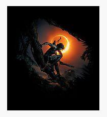Lámina fotográfica Sombra del Tomb Raider