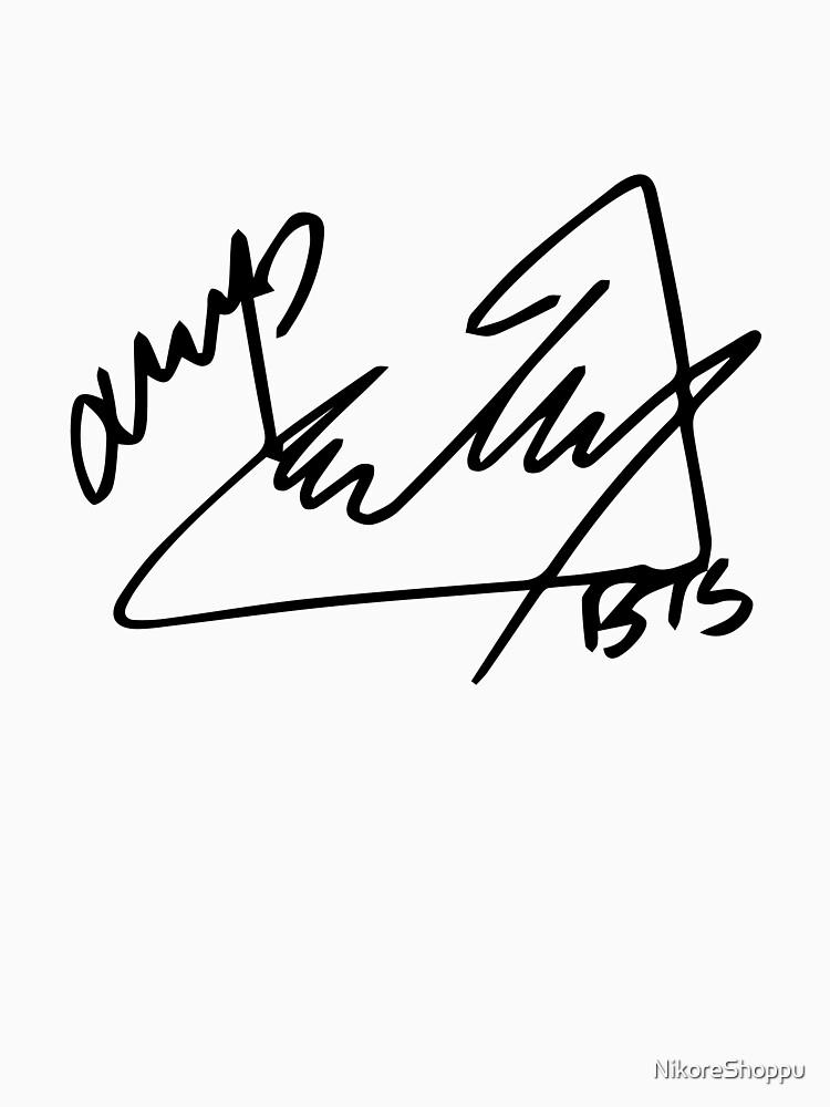 Bts Jimin Signature Png