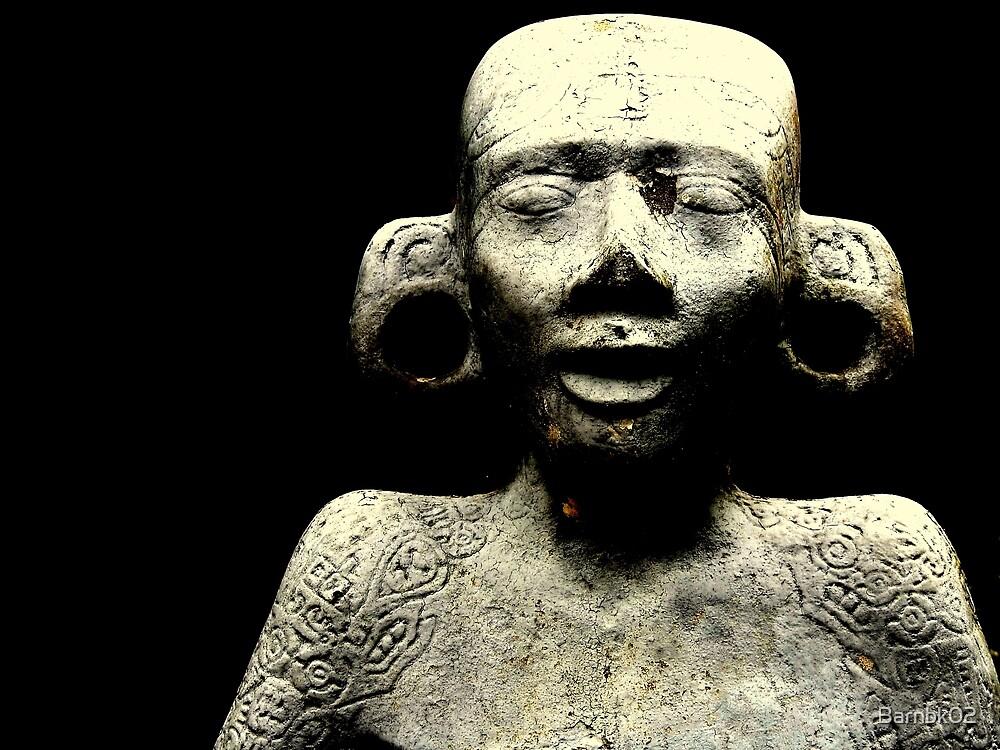 Mayan Statue by Barnbk02