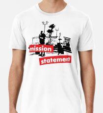 Mission Statement - light background Men's Premium T-Shirt