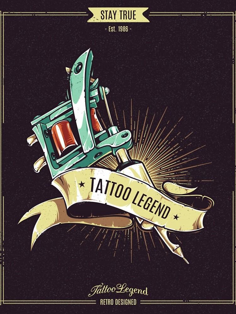 gun,tattoo legends,tattoo by srplbydz