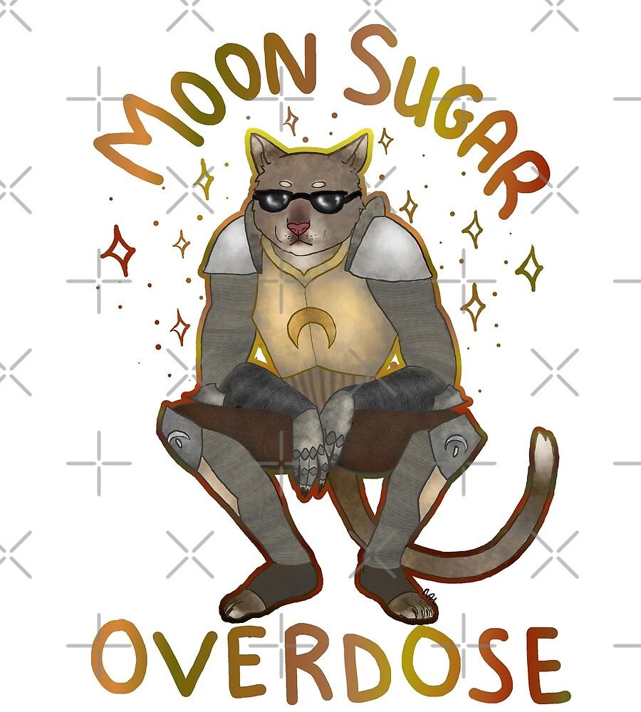 Moon sugar overdose back by zorkowyj
