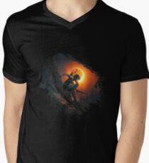 Shadow of the Tomb Raider Men's V-Neck T-Shirt