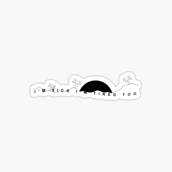 The Neighbourhood - The Beach II Sticker