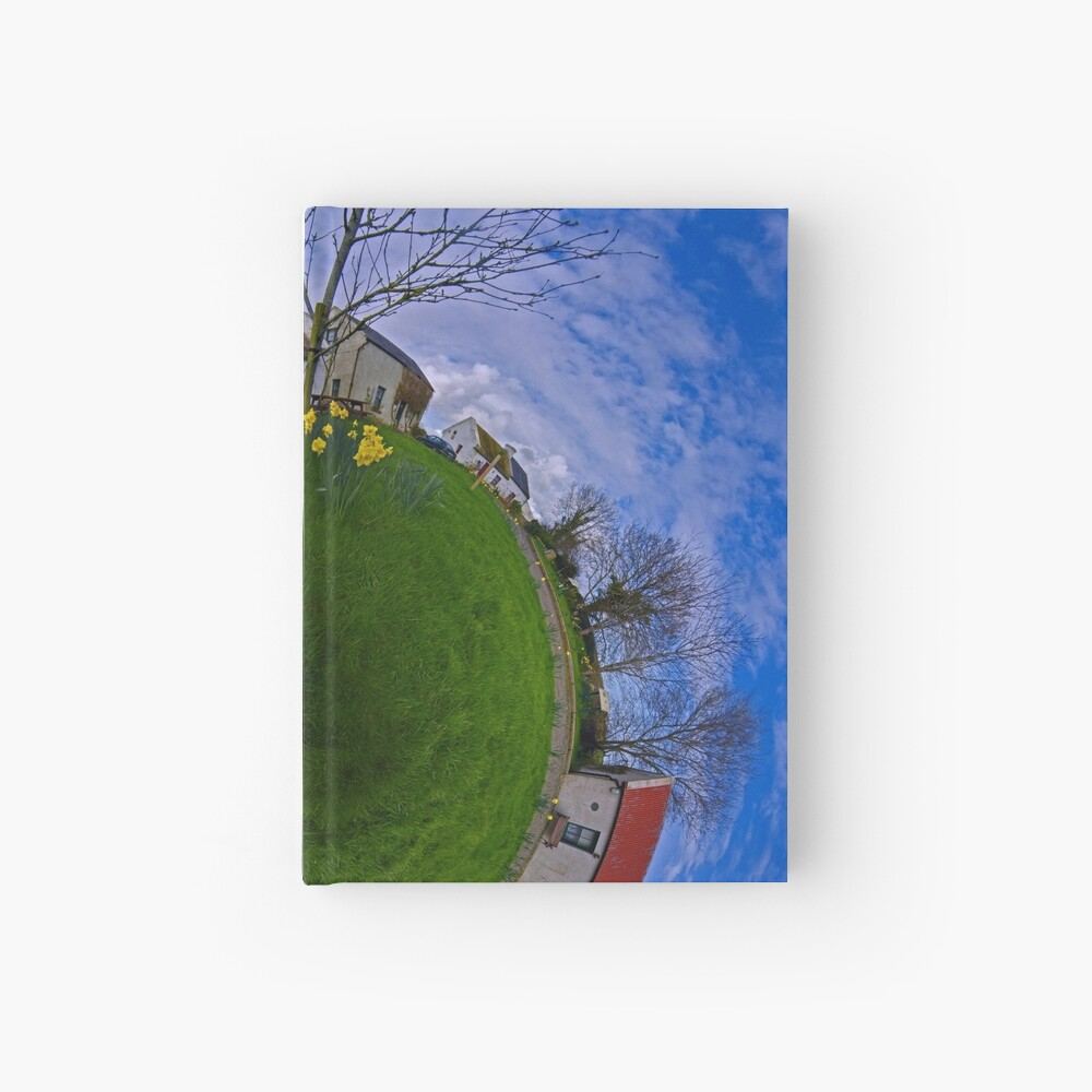 Hanna's Close, on a Sunny Day in County Down Hardcover Journal