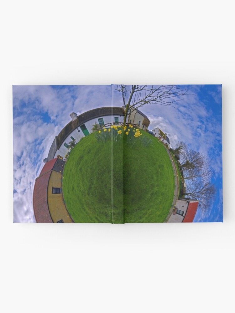 Alternate view of Hanna's Close, on a Sunny Day in County Down Hardcover Journal