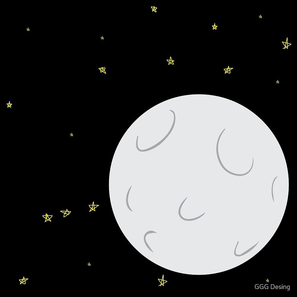 Moon by Geneviève Grandbois