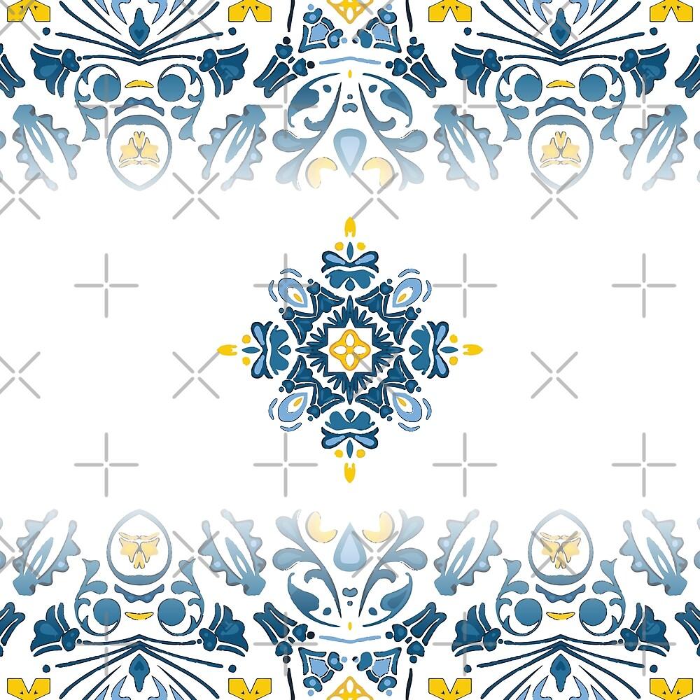 Portuguese tile by manupedreira