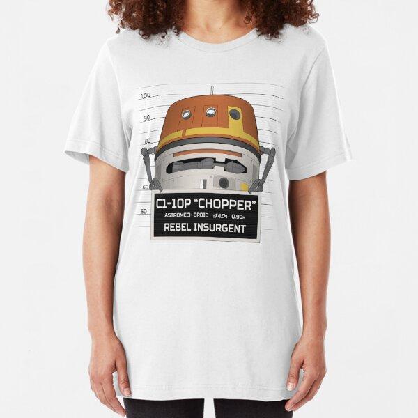 Rebel Droid Slim Fit T-Shirt