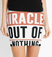 Making Miracles Out of Nothing - Novelty  Mini Skirt