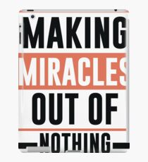Making Miracles Out of Nothing - Novelty  iPad Case/Skin