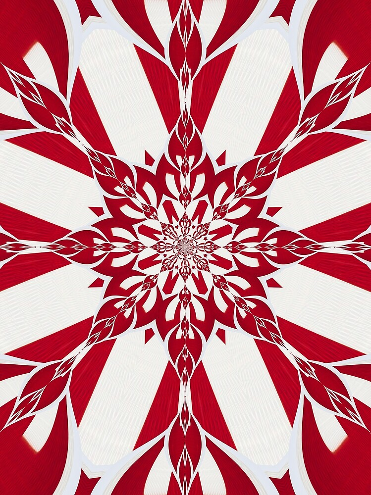Stop Sign Fractal by TedRaynor2