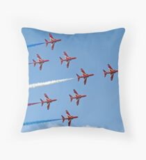 Concorde - The Red Arrows - Dunsfold 2013 Throw Pillow