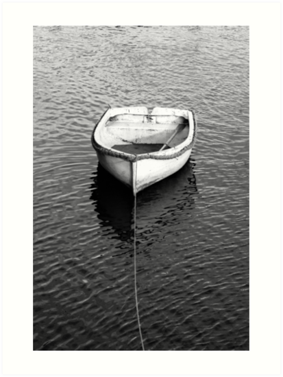 An empty boat - tell me the story by Chris Warham