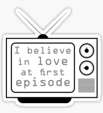 Love at first episode  Sticker