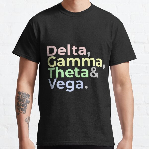The Greeks: Delta, Gamma, Theta, and Vega Classic T-Shirt