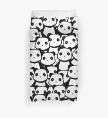 Panda Crowd Duvet Cover